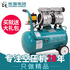 panda oil free silent air compressor high pressure stroke of the pump woodworking air spray paint air compressor mini pump 220v