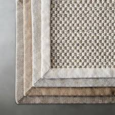 sisle rug scroll to next item solid sisal rug pottery barn sisal rugs with rubber backing
