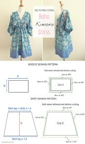Dress Patterns Free Interesting Free Sewing Pattern Tutorial Free People Inspired Summer Dress