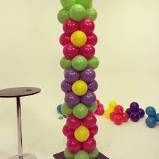 Diy Project Balloon Flower Power Tower Diy Project Step By Step Tutorial On