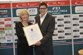 Office Award Stuttgart Media Team Scoops Rolex Fei World Cup Press Office Award