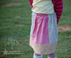 Simple Skirt Pattern Mesmerizing Sew Create It Simple Skirt Pattern