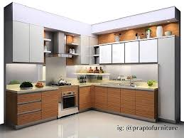 Small Picture Gambar Kitchen Set Modern Dapur Minimalis Idaman Pinterest