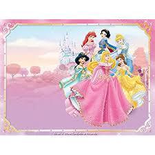 14 Sheet Disney Princess Castle Edible Frosting Cake Topper
