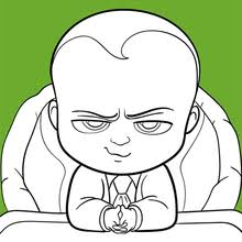 Boss Baby Coloring Pages Hellokidscom