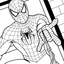 Small Picture Spiderman Free Coloring Pages Grootfeestinfo