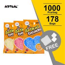 Details About Artkal 178 Colors C 2 6mm Mini Beads 1000pcs Bag Perler Hama Beads Diy Set