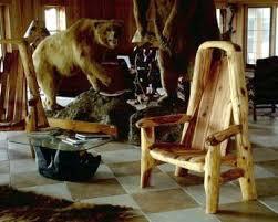 Handmade Rustic Furniture Lodge Cabin Furniture Log Furniture at