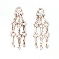 rose gold chandelier chandelier rose gold earring rose gold chandelier earrings australia