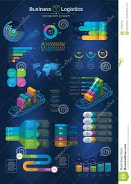 Infographics Set With Options Infographic Chart And Icon