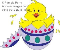 chicken hatching clipart. Fine Hatching Cute Little Chick Hatching From His Easter Egg RoyaltyFree Clip Art Picture In Chicken Clipart
