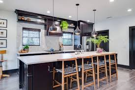 Gorgeous all white kitchen with marble countertops and dark wood floors simmons estate homes white kitchen design house kitchen remodel. Hottest Trending Kitchen Floor For 2020 Wood Floors Take Over Kitchens Everywhere