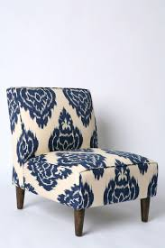 Blue Patterned Chair Custom Chair Blue Patterned Chair Chair Furniture On Your Home