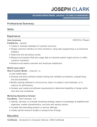 Debbies Vending Machines Own Business Resume Sample Concho