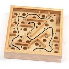 Wooden Maze Games