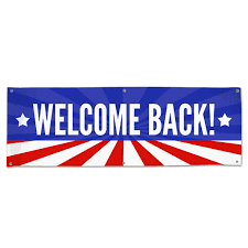 Welcome Back Stars And Stripes