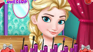 frozen princess elsa and anna prom makeup design game for s