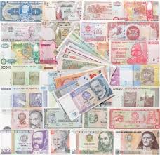 Sold Collection Of Banknotes From All Over The World In