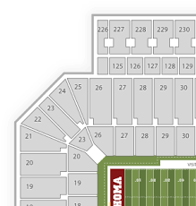 Oklahoma Sooners Football Seating Chart Find Tickets Ou