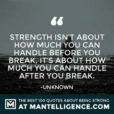 Quotes On Strength Magnificent 48 Quotes About Strength And Being Strong