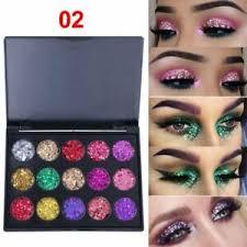<b>15 Colors Diamond Shimmer</b> Matte Glitter Eyeshadow Palette ...
