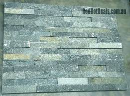 stacked stone tile home depot blue ashlar pattern gauged slate floor and wall tile 5 kits