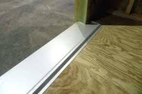quality shed options steel threshold optional galvanized steel threshold installing laminate flooring door threshold