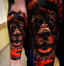 тату с изображением льва значение эскизы фото и цены сколько
