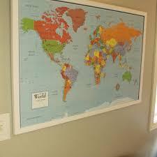 large size of gallant diy framed map corkboard wall diy framed map corkboard bulletin in
