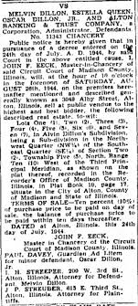 Alvin Dillon property 1944 - Newspapers.com