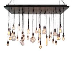 rustic interior lighting. Linear Industrial Chandelier Rustic Lighting For Traditional Dining Room Design Interior