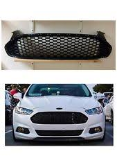 ford fusion blacked out grill. 2013 2016 ford fusion gloss black front bumper honeycomb grill 14 15 16 grille blacked out u