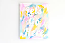 abstract e canvas abstract painting with e
