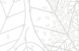 葉っぱの背景イラストがさわやかな印象の名刺用テンプレート Free