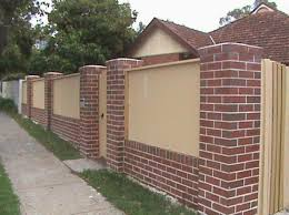 Small Picture Brick Wall Fence Designs And This Modern Garden Design With Brick