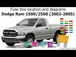 dodge ram 1500 2500 2002