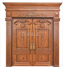 luxury front doorsLuxury Wooden Entrance Doors and Front Doors  Duolle China