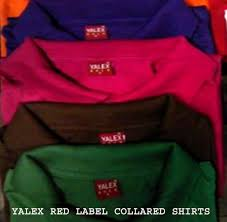 Red Label Yalex Quality Shirts For Sale