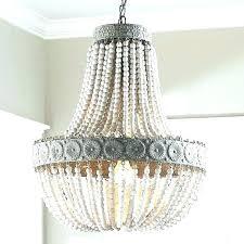 white bead chandelier large wood bead chandelier white bead chandelier medium size of barn wood for white bead chandelier