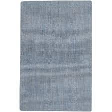 8 x 11 x large flat weave cloud blue rug montauk ll