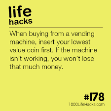 How To Hack The Vending Machine Cool 48 Life Hacks