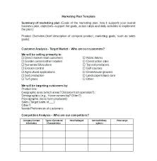 Business Plan Template In Word Format Templates Printable Model 2007