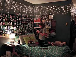 bedroom wall ideas tumblr. Beautiful Tumblr Bedroom Ideas For House Decorating Ideas: Stunning With Lights And Wall G