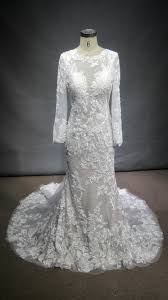 Long Sleeve Lace Wedding Gown Inspired By A Berta Bridal Design