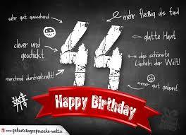 44 Jahre Geburtstagsgruß Zum Geburtstag Chef 2019 04 22