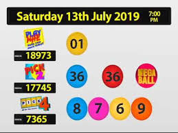 Play Whe Chart For Today Nlcb Online Draw Saturday 13th Jul 2019