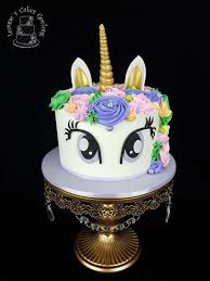 Another <b>pretty unicorn</b> cake but this time with eyes wide open ...