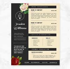 Hipster Resume & Cover Letter Template Package