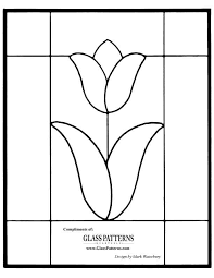 Easy Stained Glass Patterns Mesmerizing ☆ Stained Glass Patterns For FREE ☆ Glass Pattern 48 ☆