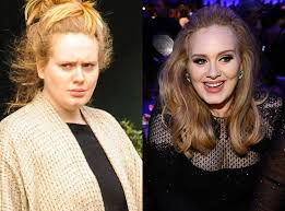 adele no makeup